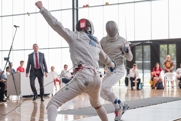 Fencing competition Australia