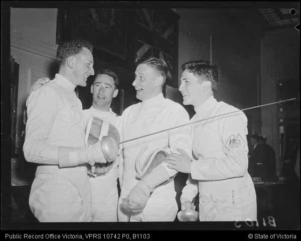 1956 Olympics men's epee team