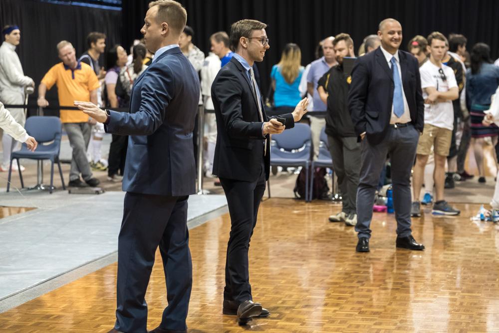 Australian fencing referees