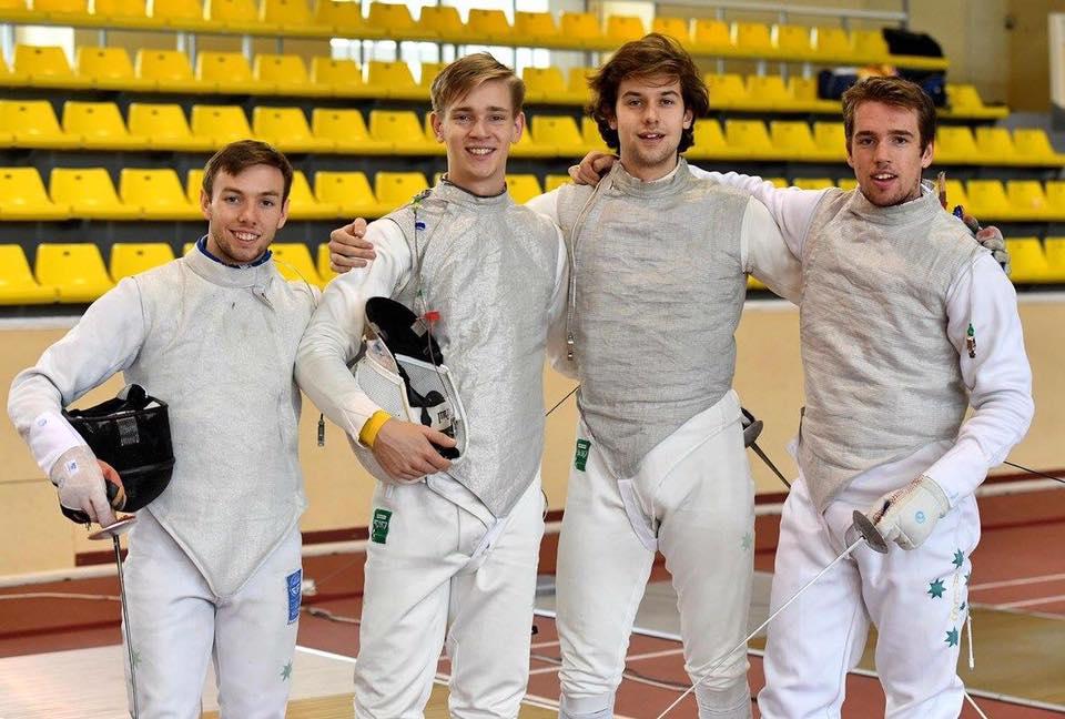 Australian men's foil team