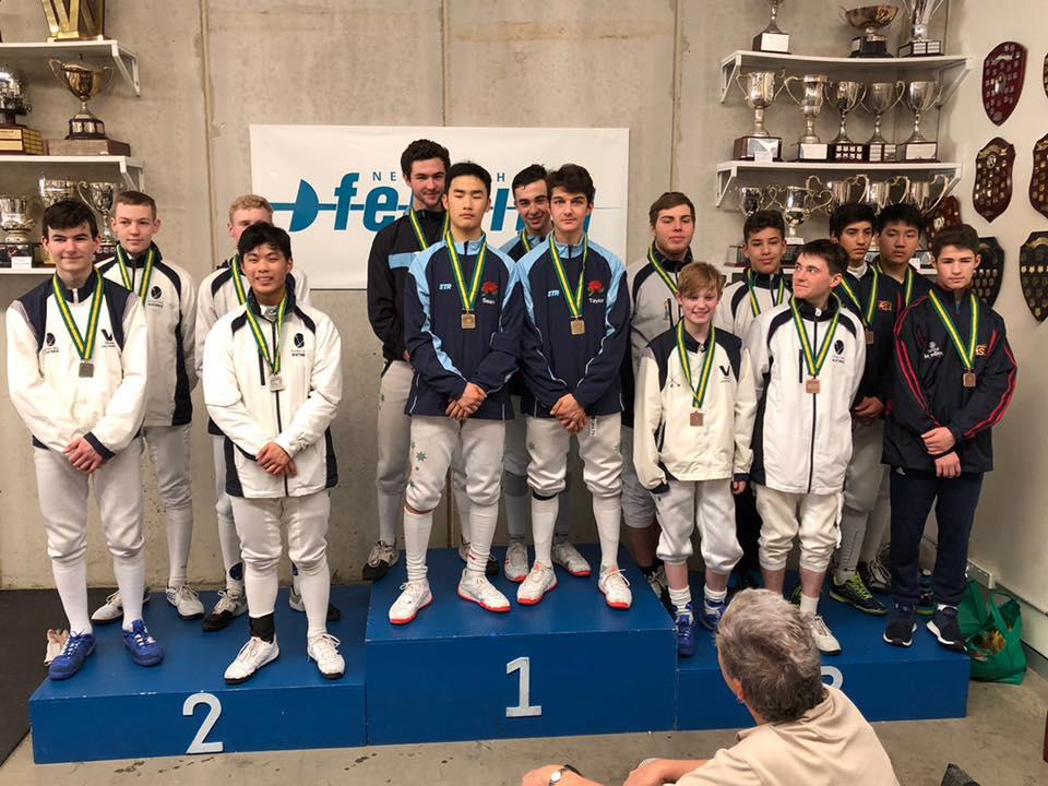 Cadet men's foil teams