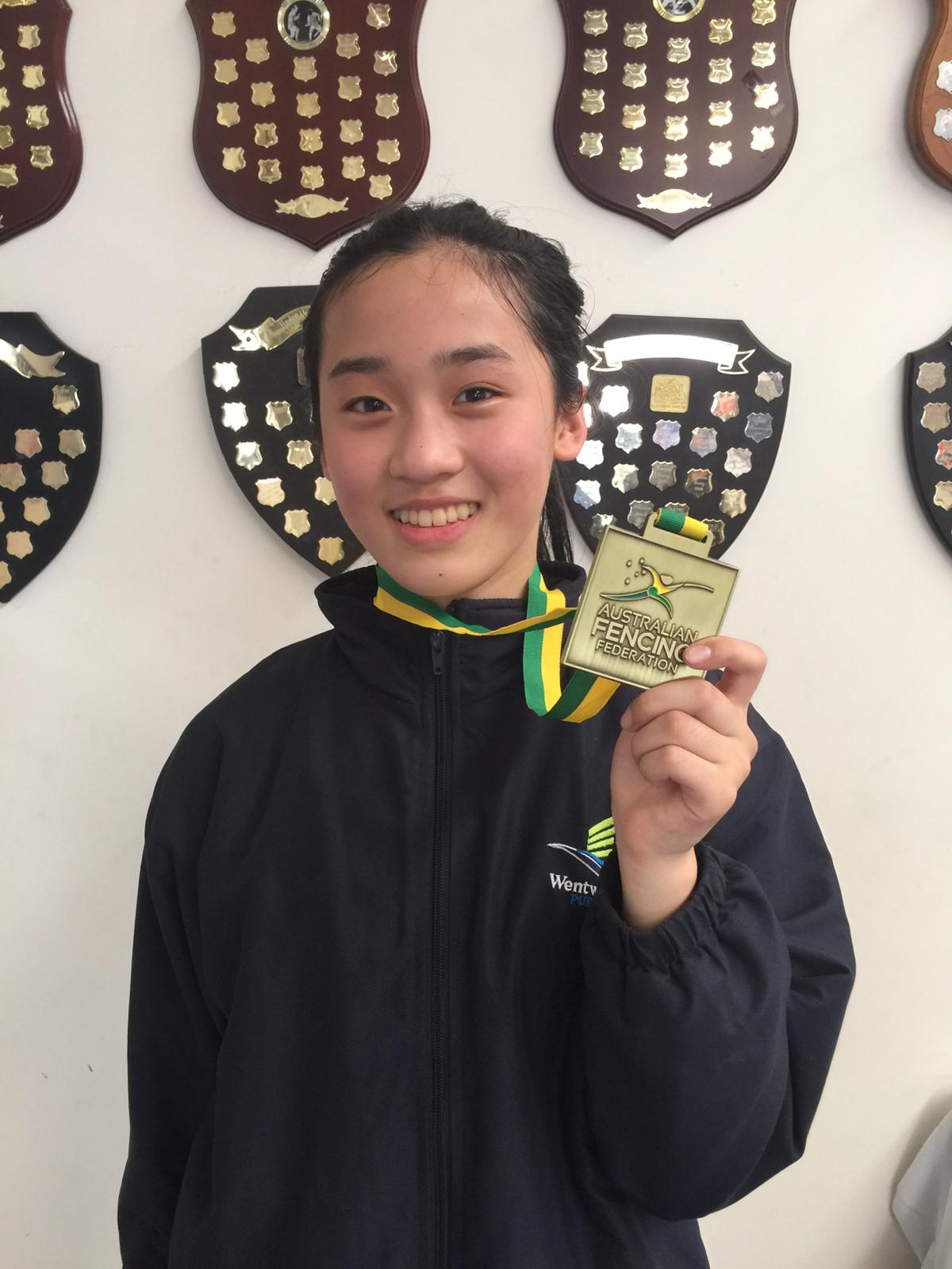 Qixuan Sun, Wentworth Public School NSW