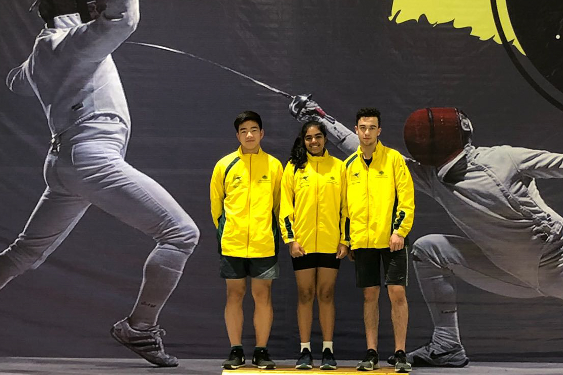 Australian fencers competing overseas 2018