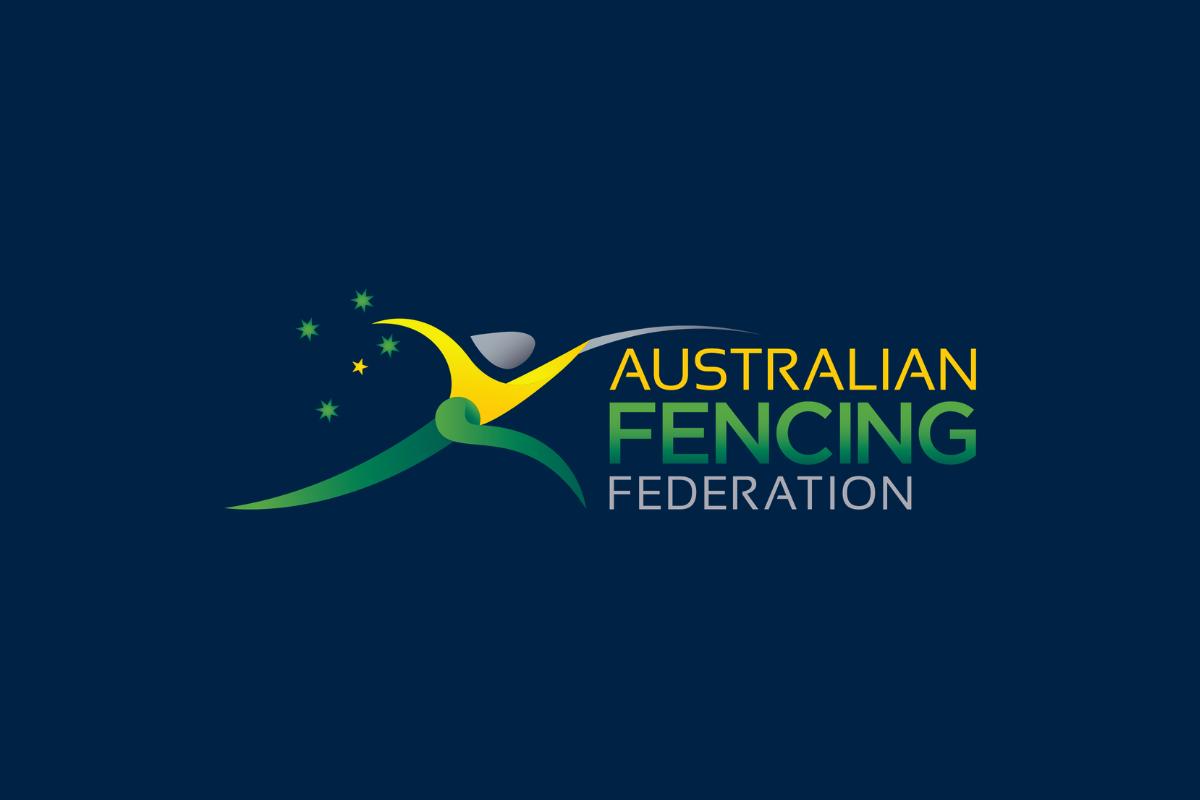 Australian Fencing Federation logo image