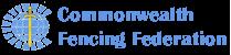 Commonwealth Fencing Federation logo