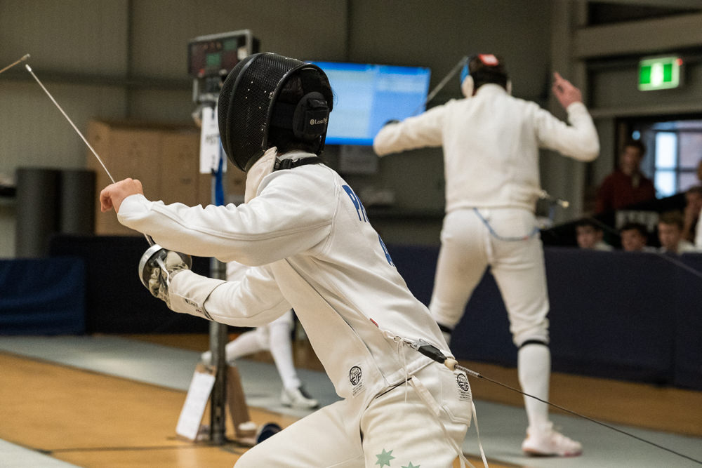 National fencing tournament