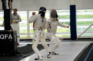 QFA fencing tournament