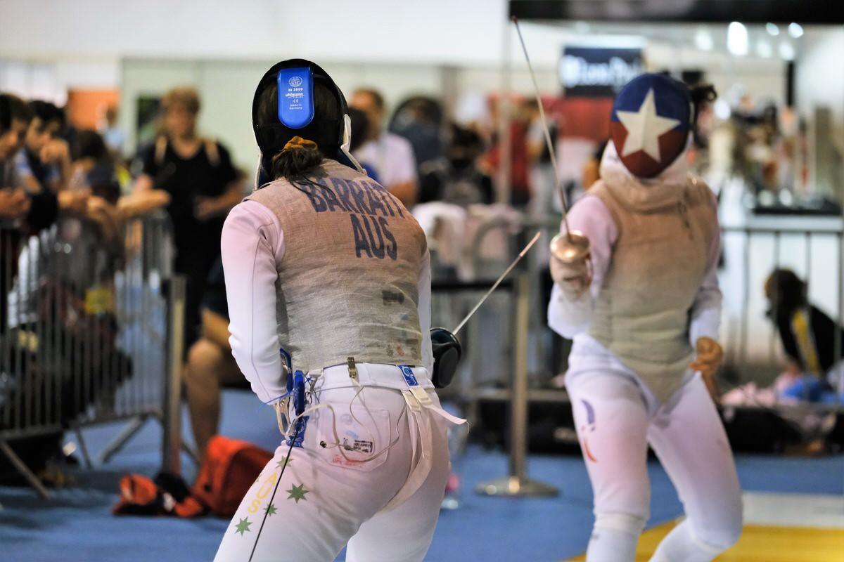 Georgie Barratt World Championships 2019