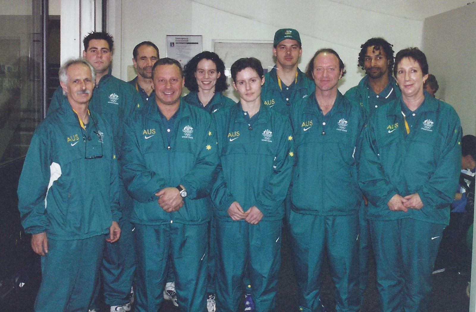 Sydney 2000 Olympics Australian Fencing Team