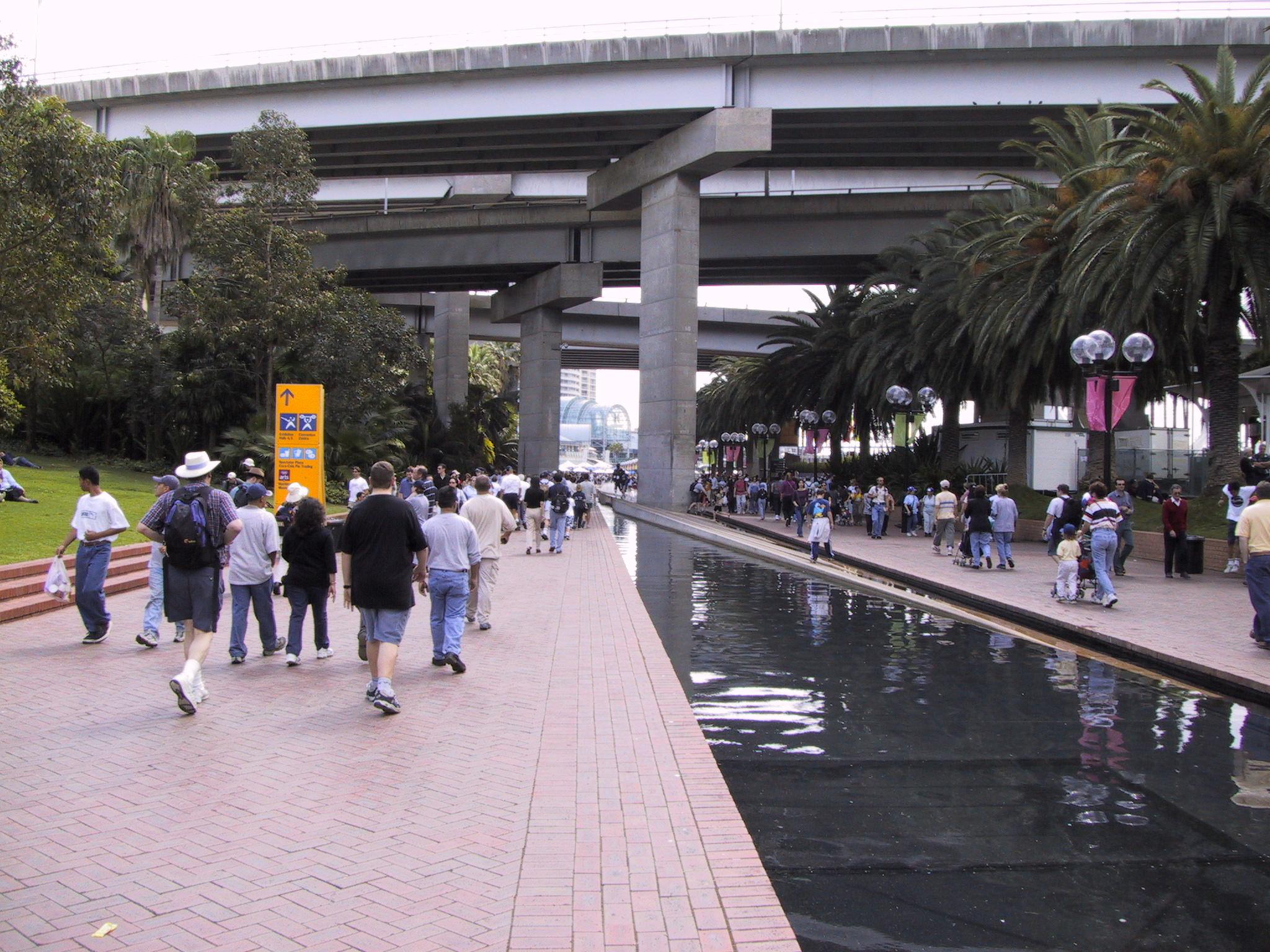 Sydney 2000 Olympics Darling Harbour precinct