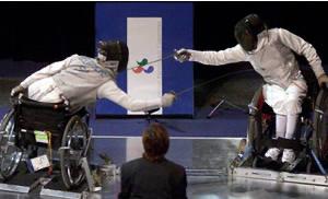Sydney 2000 Paralympic fencing